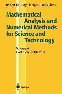 Mathematical Analysis and Numerical Methods for Science and Tech