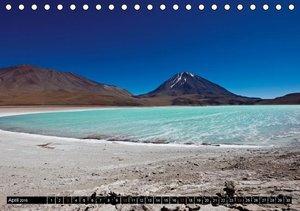 """Bolivien Andenlandschaften """"CH-Version"""" (Tischkalender 2016 DIN"""