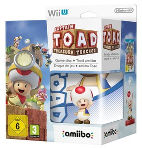 Wii U Captain Toad + amiibo