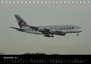Das größte Passagierflugzeug - Die Airlines (Tischkalender 2017