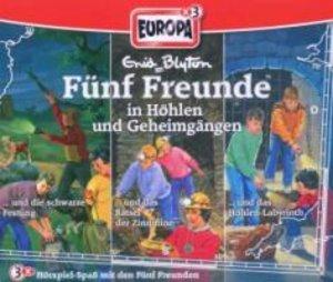 Fünf Freunde Box 16 ... in Höhlen und Geheimgängen