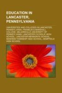 Education in Lancaster, Pennsylvania