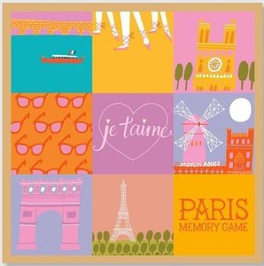 Paris Memory Game