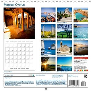 Magical Cyprus (Wall Calendar 2015 300 × 300 mm Square)