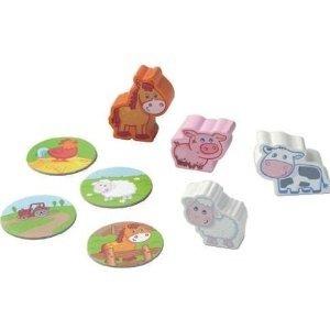 Haba 5583 - Erste Spielwelt: Bauernhof Spielfiguren Tierkinder