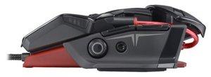 R.A.T. TEÖ Gaming-Maus für PC und Mac, schwarz-glossy