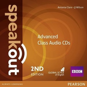 Speakout Advanced 2nd Edition Class CDs (2)