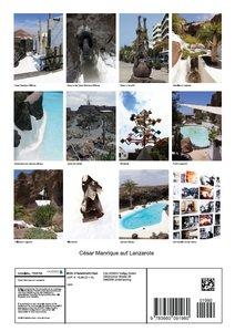 César Manrique auf Lanzarote (Posterbuch DIN A4 hoch)