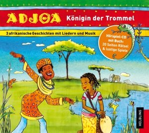 Adjoa - Königin der Trommel. Audio-CD