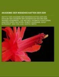 Akademie der Wissenschaften der DDR