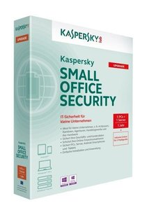 Kaspersky Small Office Security - 5 PC/1 Server/1 Jahr - Upgrade