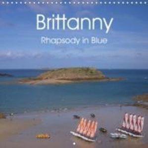 Brittanny Rhapsody in Blue (Wall Calendar 2015 300 × 300 mm Squa