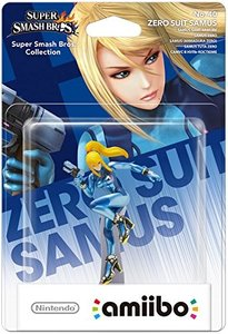 Amiibo - Nintendo SUPER SMASH BROS. Zero Suit Samus No. 40, Fig