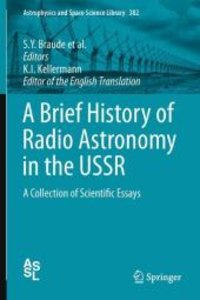 A Brief History of Radio Astronomy in the USSR