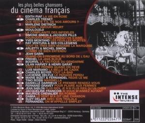Les Plus Belles Chansons Du Cinema Francais (Vario