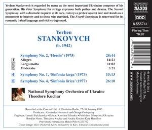 Sinfonien 1,2+4