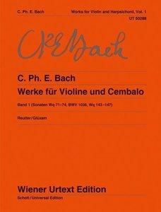 Werke für Violine und obligates Cembalo 1