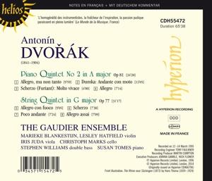 Klavierquintett 2,A-Dur/Streichquintet G-Dur - zum Schließen ins Bild klicken