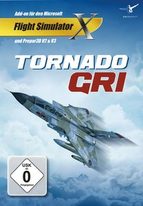 Flight Simulator X - Just Flight Tornado GR1 (Addon)