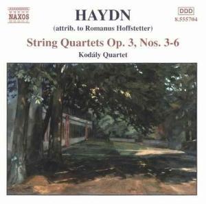 Streichquartette op.3,Nr.3-6