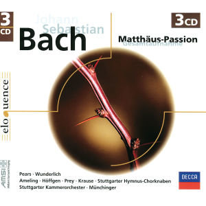 Matthäus-Passion BWV244 (Gesamtaufnahme). 3 Klassik-CDs