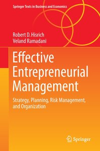 Effective Entrepreneurial Management