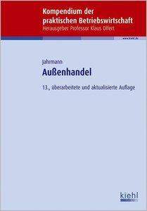 Jahrmann, F: Außenhandel