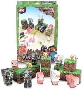 Minecraft 16701 - Papierset, Tiere, 30 Teile