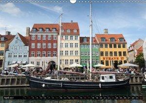 Kopenhagen - Die schönste Hauptstadt Europas (Wandkalender 2017