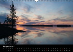 Nordische Lichterstimmungen (Wandkalender 2016 DIN A3 quer)