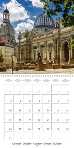 Views of Dresden (Wall Calendar 2016 300 × 300 mm Square)