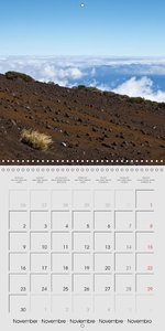 Tenerife - Parc National du Teide (Calendrier mural 2015 300 × 3