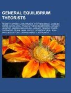 General equilibrium theorists