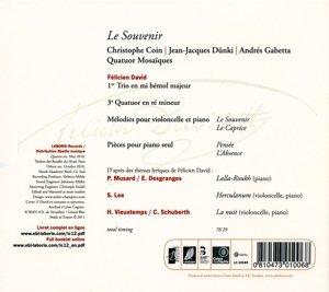 Le Souvenir-Kammermusik