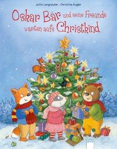 Oskar Bär und seine Freunde warten aufs Christkind