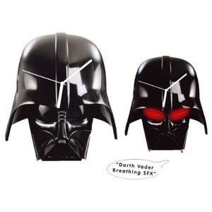 Joy Toy 21340 - Star Wars: Wanduhr Darth Vader Helm - zum Schließen ins Bild klicken