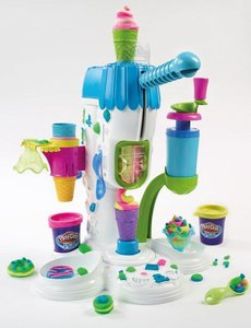 Play-Doh A2104E24 - Riesen-Softeismaschine, Neue Edition 2013