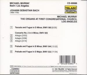 Orgelwerke/Toccata & Fuge