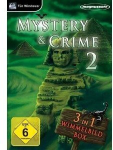 Mystery and Crime Vol.2 - 3 in 1 Wimmelbildbox