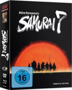 Samurai 7 - Gesamtausgabe - Blu-ray und DVD Box (8 Discs)