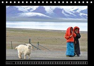 Tibet - Begegnungen (Tischkalender 2016 DIN A5 quer)
