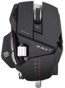 R.A.T. 9 Wireless Gaming Mouse für PC and Mac - matt-schwarz