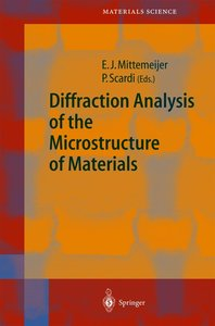 Diffraction Analysis of the Microstructure of Materials