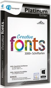 Creative Fonts 5 - Avanquest Platinum Edition