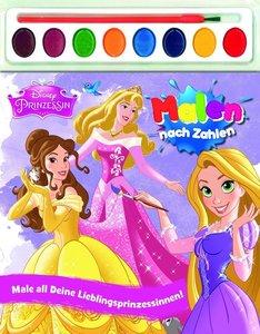 Disney Prinzessin Malen nach Zahlen