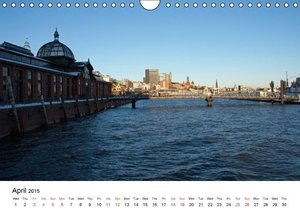Hamburg - The Harbor (Wall Calendar 2015 DIN A4 Landscape)