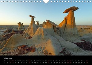 Stones & Rocks (UK-Edition) (Wall Calendar 2015 DIN A4 Landscape