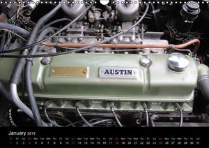 Classic Cars / UK-Version (Wall Calendar 2015 DIN A3 Landscape)