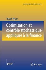 Optimisation et contrôle stochastique appliqués à la finance