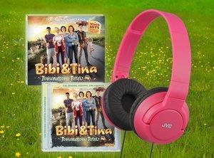 Bibi & Tina - Tohuwabohu Total Audio-Set (Stereo-Kopfhörer inklu